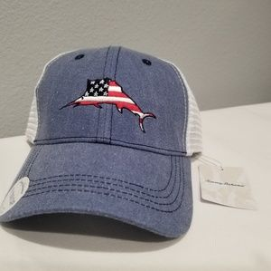 TOMMY BAHAMA Tip Your Cap NEW American Flag Hat